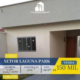 Casa De 2 Quartos - Setor Laguna Park - Trindade