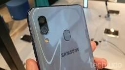 Samsung A30 troco por iPhone 8 dou volta.