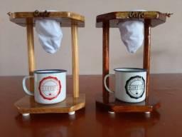 Título do anúncio: Cafeteira Artesanal de Madeira Mix