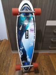 Título do anúncio: Longboard speed, ta esse preço por conta de rolamento e rollers semi-novos.