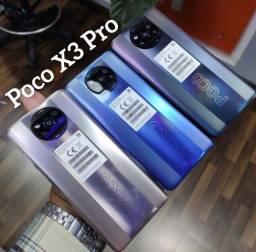 Título do anúncio: Poco X3 Pro Azul/Preto/Bronze 8+256Gb