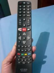Controles remoto das TVs