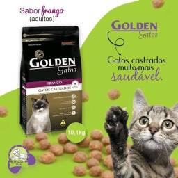 Ração Golden gato , castrado e adulto