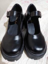 Título do anúncio: Sapato Lolita Aesthetic Kawaii