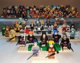 Lego Naruto e outros por R$15 cada personagem. 100% novo - lacrado!