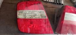 Par de lanternas tráseira Fiat Stilo 2007