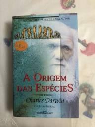 Livro A origem das espécies - Charles Darwin