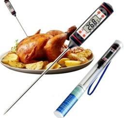 Título do anúncio: Termômetro Culinário Espeto Cozinha Digital Alimentos e Bebidas