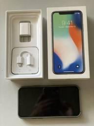 iPhone x 64 gb branco muito novo
