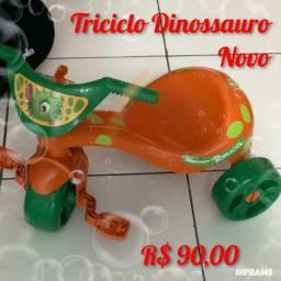 Título do anúncio: Triciclo Dinossauro