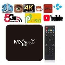 Título do anúncio: Tv box 4k 5g  128 gigas 8 ram
