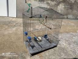 Título do anúncio: Viveiro gaiola calopsita periquito hporne papagaio