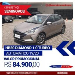 Título do anúncio: HB20 Diamond aut. 1.0 turbo 2020