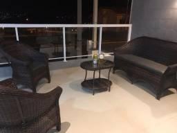 Título do anúncio: Conjunto de sofá dani em fibra sintética