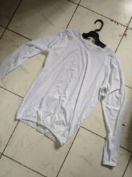 Camisa UV ciclismo com bolso
