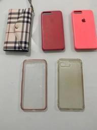 Capas IPHONE 8 plus kit