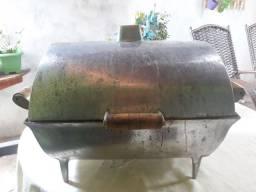 Churrasqueira de alumínio