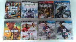 Vendo 8 Jogos de Playstation 3 originais.