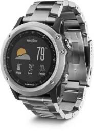 Título do anúncio: Smartwatch garmin Fenix 3hr titanium safira