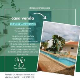 Título do anúncio: Casa venda 520m² Jd. São Francisco Jau SP