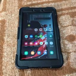 Tablet samsung A T295 na caixa, acompanha 2 capinhas