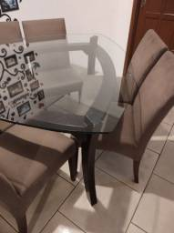 Mesa de jantar seis cadeiras
