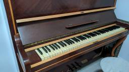 Piano Armário M. SCHWARTZMANN Acústico Relíquia