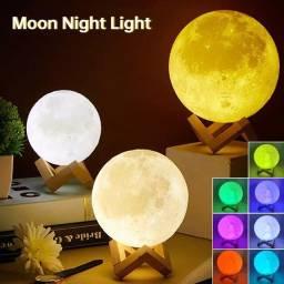 Título do anúncio: Lua 3D com 7 cores 12v