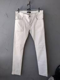 Título do anúncio: Calça Jeans Zara Super Skinny Creme Tam. 42