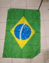 Título do anúncio: Bandeira do Brasil 0,90 x 0,60 cm Poliéster