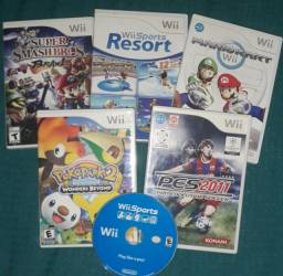 Jogos Nintendo Wii Originais Americano - usados