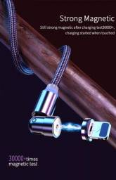 Título do anúncio: CABO USB MAGNÉTICO 360gTIPO C