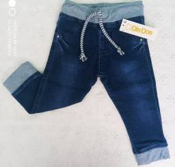 Calça Jeans Bebê