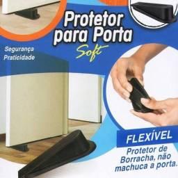 Protetor De Borracha Para Porta Soft Flexível<br><br>