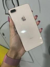 Título do anúncio: iPhone 8 Plus 64GB gold