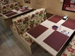 Título do anúncio: 4 Sofás Booth para restaurantes, bares, lanchonetes e pizzaria