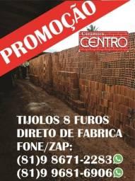 Título do anúncio: Promoção! Carrada de Tijolos 8 furos, Areia lavada, fingir ou brita, pó de pedra