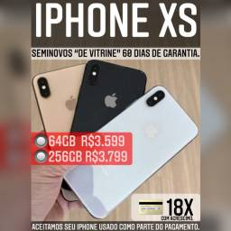 iPhone XS 64gb de vitrine, aceitamos seu iPhone usado como parte do pagamento.