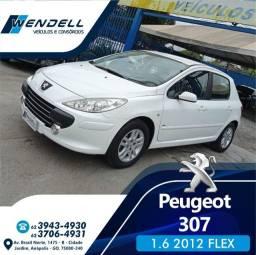 Peugeot 307 1.6 Presence manual 2012 IPVA 2021 PG!