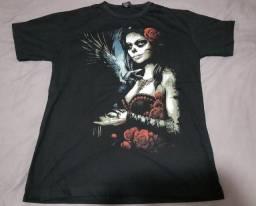 Título do anúncio: Camisa caveira mexicana