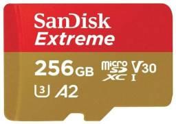 Micro Sd SanDisk 256 usado