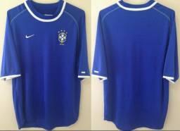 Camisa Seleção Brasileira Nike 2000 Tam G (72x56) Perfeito Estado a4fdc32fd516f