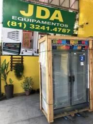 Balcão auto serviço 2 portas / freezer - refrigerador vertical - marca fricon