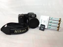 Nikon Coolpix L820 16.0 Mp 3 Visor Lcd, Lente De Zoom - 30x
