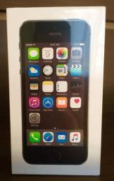 Novo Caixa Lacrada 1 Ano Garantia Oficial Apple -IPhone 5s 16gb Anatel Space Gray-
