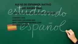 Aulas de Espanhol Nativo (De Argentina)