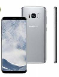 Galaxy s8 Plus prata - 64gb