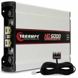 Modulo Amplificador Taramps Hd5000 5000w Rms 1 ou 2 Ohms