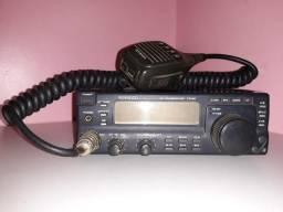 Rádio amador cobra e kenwood
