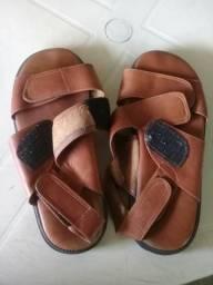 Sandália de couro n°38